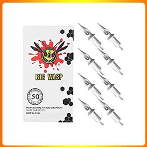 BIGWASP 50pcs Assorted Disposable Tattoo Needle