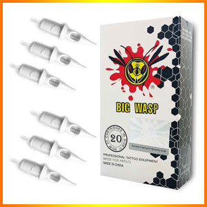 BIGWASP Professional Disposable Tattoo Needle Cartridge