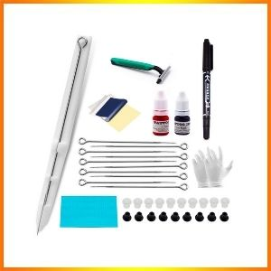 Chiitek poke and stick tattoo kit with pen complete tattoo supplies