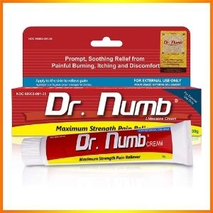 Dr. numb pain-reducing numbing
