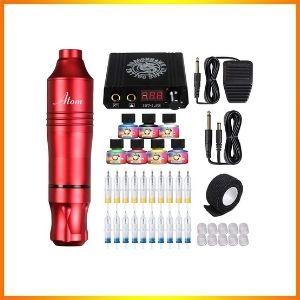 Dragonhawk tattoo pen Kit, impression needles, rotary tattoo package, power supply