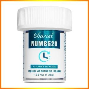 Ebel topical 5% lidocaine numbing powerful lotion strength