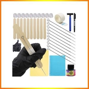 Hand Stick and poke tattoo kit do it yourself professional package deal supply