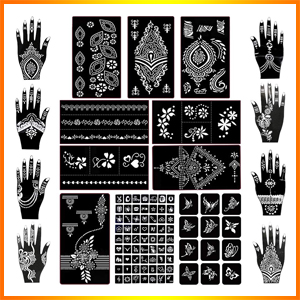 Koogel Henna Tattoo Stencil Kit