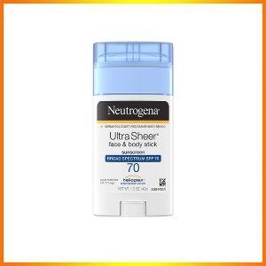 Neutrogena Ultra Sheer sunscreen stick