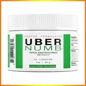 Uber's latest formula, numbing cream