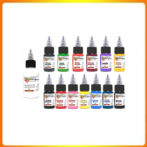 Authentic 14 Starbrite 14 Colored, Inks Tattoo, Tattoo Kit Starbright 12oz