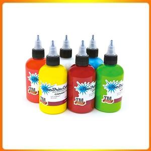 Starbrite Tattoo Ink, 6 Lightweight Bottles, Tattoo Supply, Summer Bottles