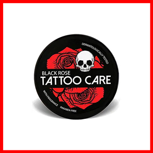 Tattoo Care Black Rose Balm with Natural Ingredients