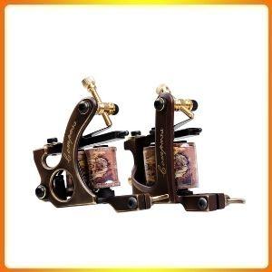 Dragonhawk 2pcs Brass Coils Tattoo Machine