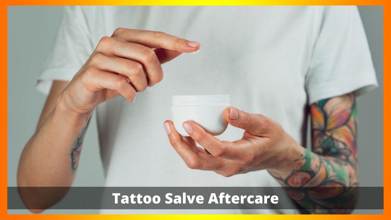 Tattoo Salve Aftercare